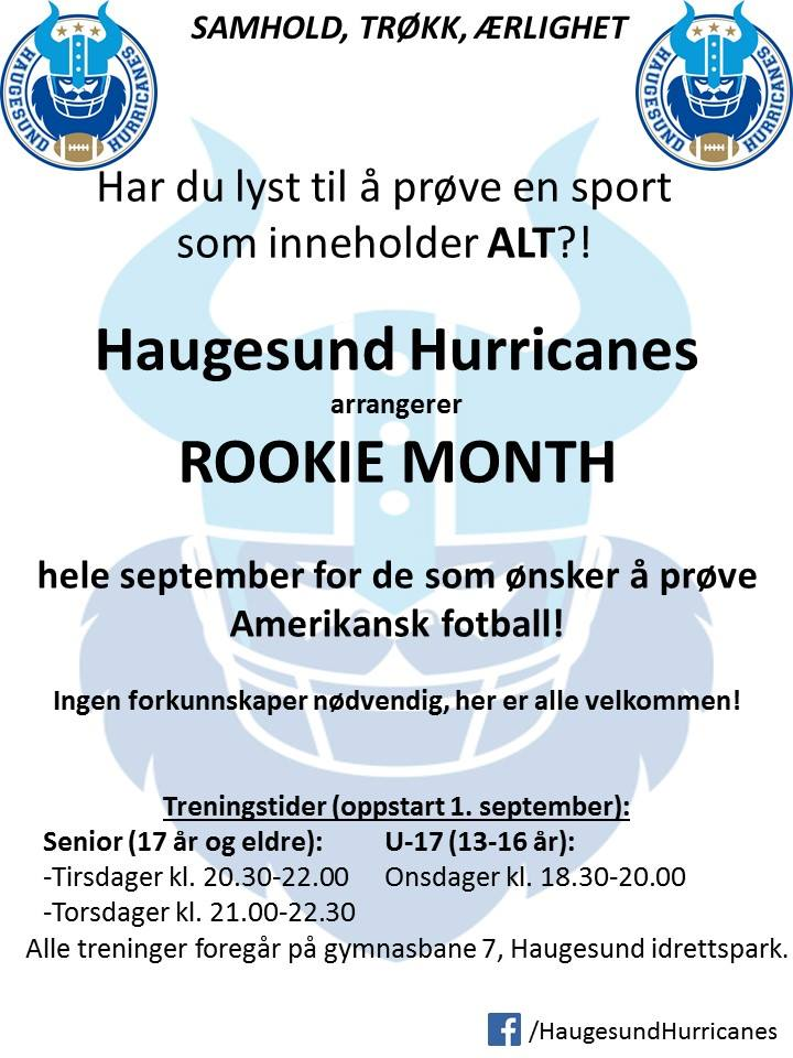 Rookie month